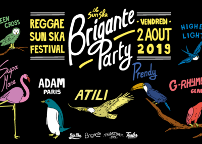 BRIGANTE PARTY with Atili & Higher Light & Mana & Prendy & Green Cross & Adam Paris & G Rhyme